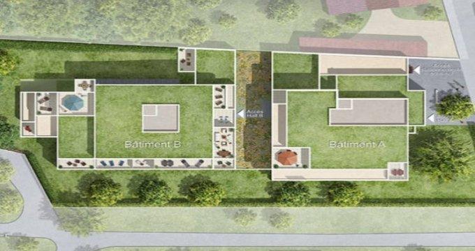 Achat / Vente appartement neuf Bouguenais secteur calme proche tramway (44340) - Réf. 4717