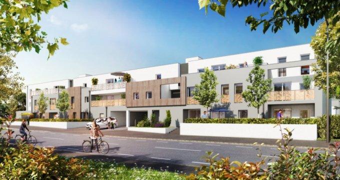 Achat / Vente appartement neuf Carquefou quartier Housseau/Chêne vert (44470) - Réf. 1446