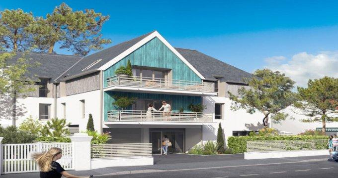 Achat / Vente appartement neuf La Baule-Escoublac à 5 min front de mer (44500) - Réf. 5621