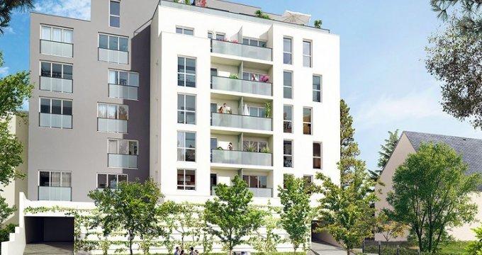 Achat / Vente appartement neuf Nantes proche bord du Cens (44000) - Réf. 230