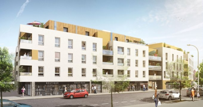 Achat / Vente appartement neuf Nantes proche centre commercial Paridis (44000) - Réf. 1080