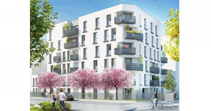 Achat / Vente appartement neuf Nantes proche de la Place Viarme (44000) - Réf. 1277