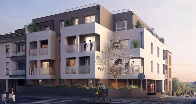 Achat / Vente appartement neuf Orvault Petit Chantilly (44700) - Réf. 5525
