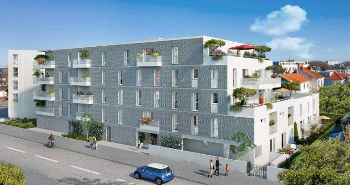 Achat / Vente appartement neuf Orvault proche pôle commercial du Cardo (44700) - Réf. 5842