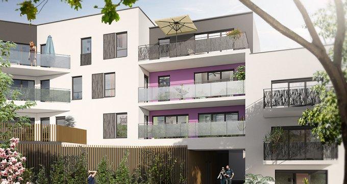 Achat / Vente appartement neuf Rezé coeur de ville (44400) - Réf. 1874