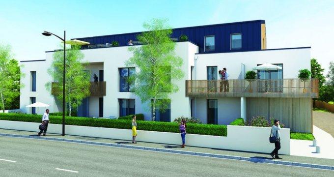 Achat / Vente appartement neuf Saint-Herblain proche mairie (44800) - Réf. 2184
