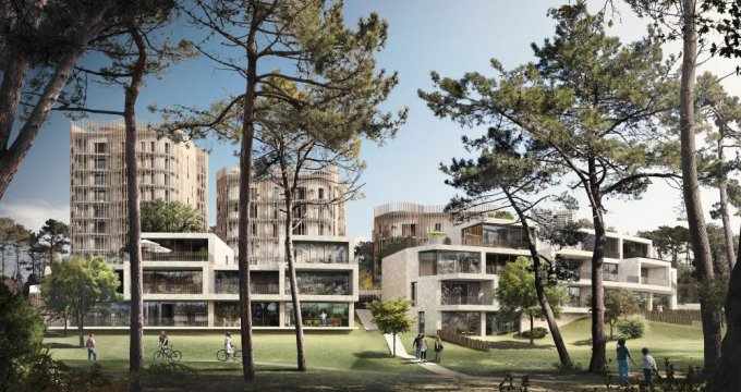 Achat / Vente appartement neuf Saint Herblain quartier Bagatelle : environnement boisé (44800) - Réf. 459