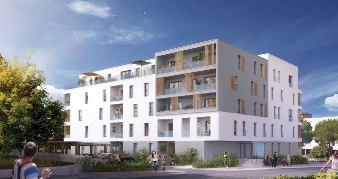 Achat / Vente appartement neuf Saint-Nazaire à 600 mètres de la plage Porcé (44600) - Réf. 2832