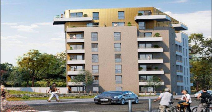 Achat / Vente appartement neuf Saint-Nazaire au coeur du campus Heinlex (44600) - Réf. 5157