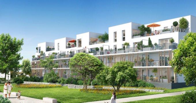 Achat / Vente appartement neuf Saint-Nazaire proche plages et centre-ville (44600) - Réf. 1987