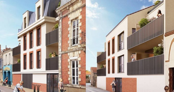 Achat / Vente appartement neuf Saint-Philbert-de-Grand-Lieu centre-ville (44310) - Réf. 5825