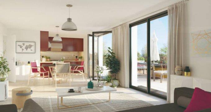 Achat / Vente appartement neuf Vertou quartier Beautour proche Busway (44120) - Réf. 4017