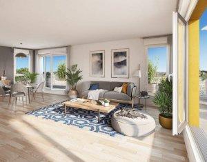 Achat / Vente appartement neuf Nantes à 15 min du cœur de Nantes Erdre (44000) - Réf. 6222