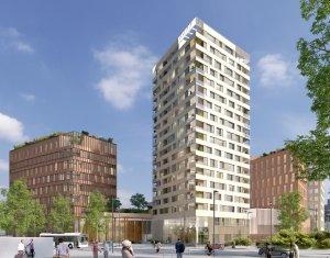 Achat / Vente appartement neuf Nantes au cœur du quartier Euronantes (44000) - Réf. 4054