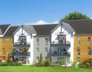 Achat / Vente appartement neuf Pornic proche parc botanique (44210) - Réf. 205