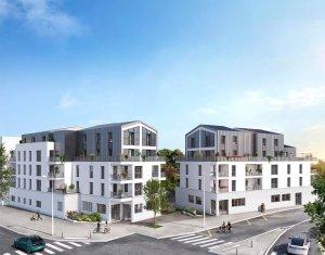Achat / Vente appartement neuf Rezé au cœur du quartier Butte de Praud (44400) - Réf. 6162