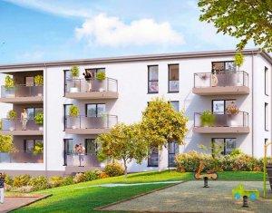 Achat / Vente appartement neuf Saint-Nazaire calme et verdoyant (44600) - Réf. 3493