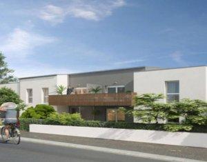 Achat / Vente appartement neuf Saint-Nazaire proche arrêt de bus (44600) - Réf. 3912