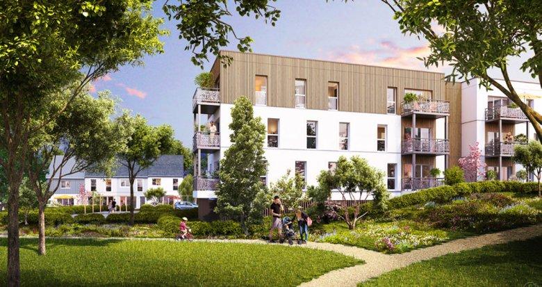 Achat / Vente appartement neuf Ancenis en plein coeur de ville (44150) - Réf. 1699