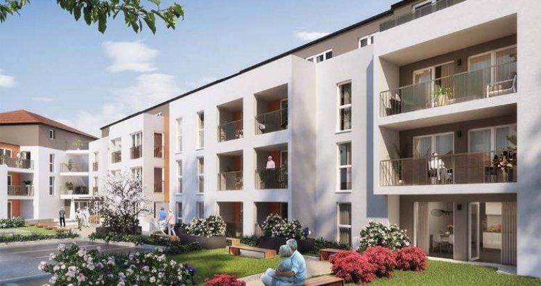 Achat / Vente appartement neuf Bouaye centre-ville résidence seniors (44830) - Réf. 5950