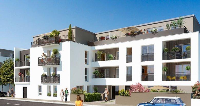 Achat / Vente appartement neuf Bouaye proche Nantes (44830) - Réf. 524