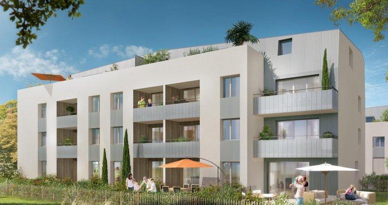 Achat / Vente appartement neuf Bouguenais aux portes de Nantes (44340) - Réf. 2397