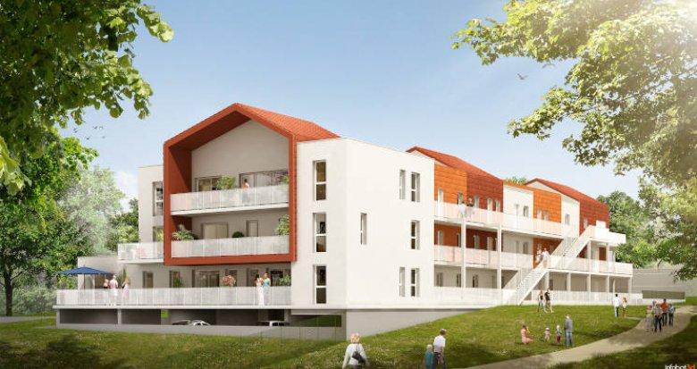 Achat / Vente appartement neuf Bouguenais coeur de ville (44340) - Réf. 5287