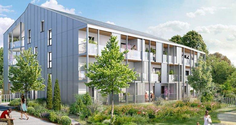 Achat / Vente appartement neuf Carquefou dans l'éco-quartier de la Fleuriaye II (44470) - Réf. 1118