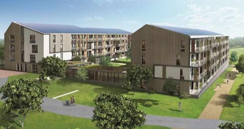 Achat / Vente appartement neuf Carquefou écoquartier Fleuriaye (44470) - Réf. 508