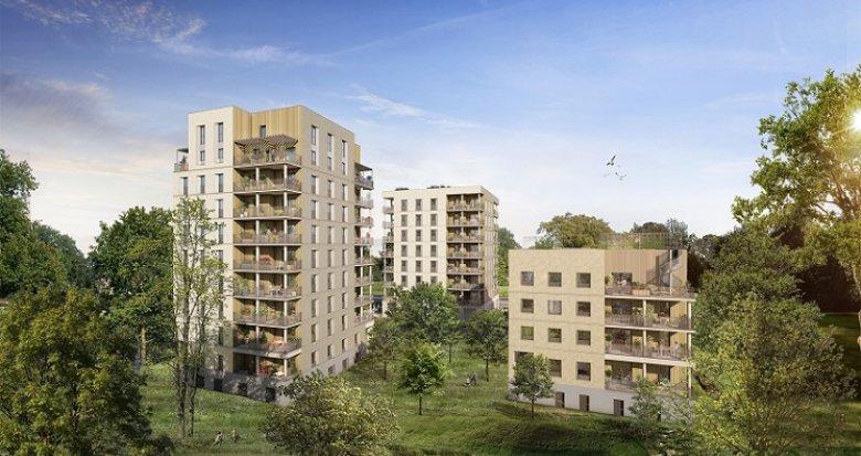 Achat / Vente appartement neuf Cœur Boisé (44000) - Réf. 6028