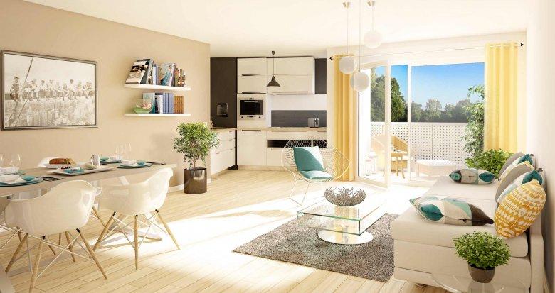 Achat / Vente appartement neuf Couëron centre bourg (44220) - Réf. 589