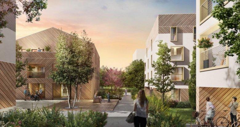 Achat / Vente appartement neuf Couëron dans un environnement boisé à 3 minutes du centre (44220) - Réf. 4062