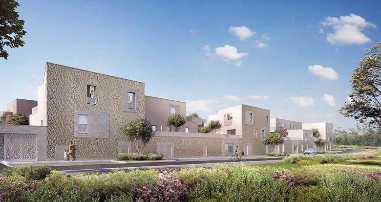 Achat / Vente appartement neuf Couëron quartier de la Chabossière (44220) - Réf. 3483