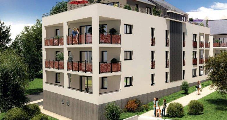 Achat / Vente appartement neuf Grandchamp-des-Fontaines au cœur du centre bourg (44119) - Réf. 6225
