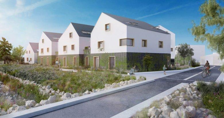 Achat / Vente appartement neuf Guérande au coeur de l'éco-quartier de la Maison Neuve (44350) - Réf. 1655