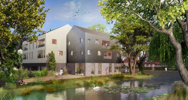 Achat / Vente appartement neuf Haute-Goulaine centre-ville (44115) - Réf. 2634
