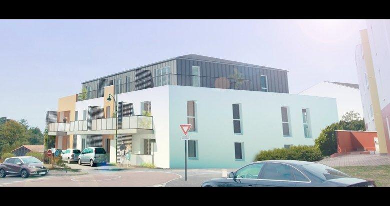 Achat / Vente appartement neuf Indre proche centre commercial Atlantis (44610) - Réf. 1332