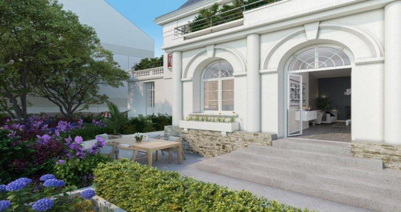 Achat / Vente appartement neuf La Baule-Escoublac à 900 mètres de la plage (44500) - Réf. 5408