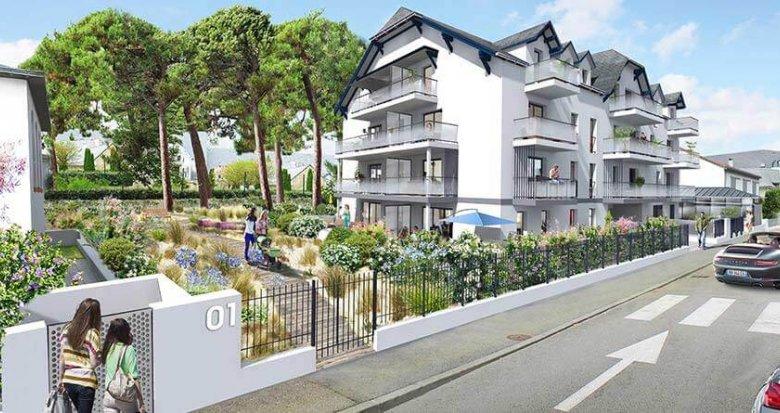 Achat / Vente appartement neuf La Baule Escoublac quartier des Villas (44500) - Réf. 2332