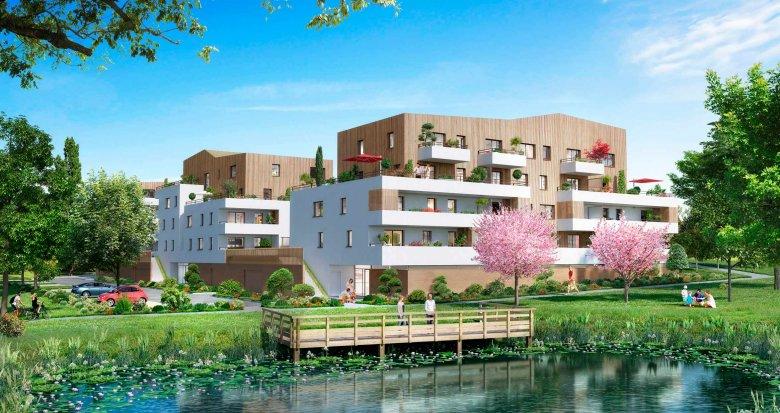 Achat / Vente appartement neuf La Chapelle-sur-Erdre à 5 minutes du centre-ville (44240) - Réf. 343