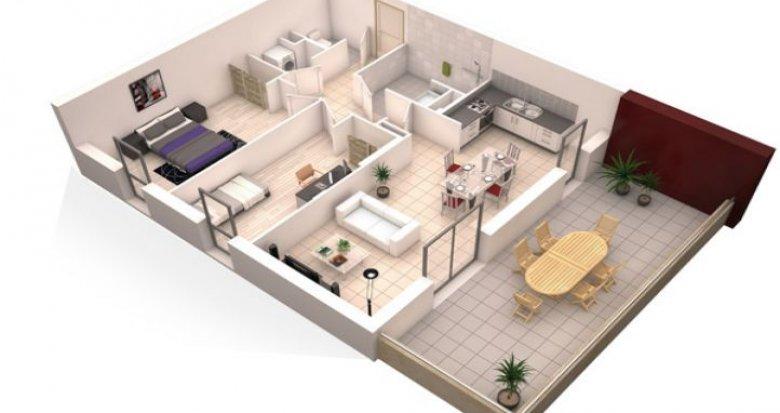 Achat / Vente appartement neuf La Chapelle-sur-Erdre pôle univesitaire (44240) - Réf. 186