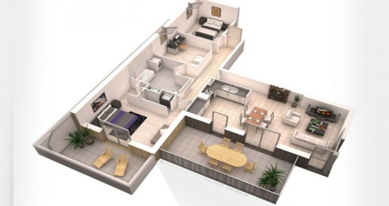 Achat / Vente appartement neuf LaChapelle-sur-Erdre proche du centre (44240) - Réf. 5