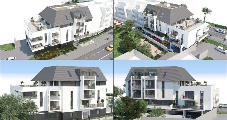 Achat / Vente appartement neuf Le Pouliguen à deux pas du port de plaisance (44510) - Réf. 2364