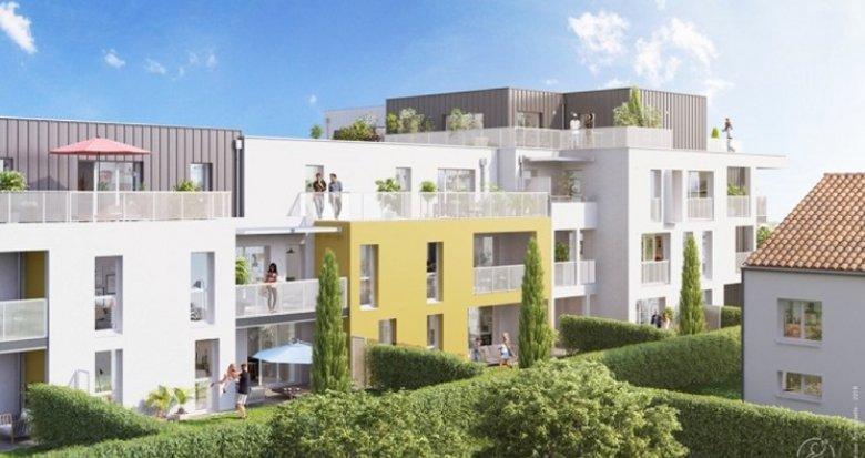 Achat / Vente appartement neuf Les Sorinières centre-ville (44840) - Réf. 3492