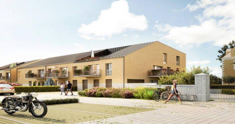 Achat / Vente appartement neuf Les Sorinières, proche bourg environnement boisé (44840) - Réf. 6005