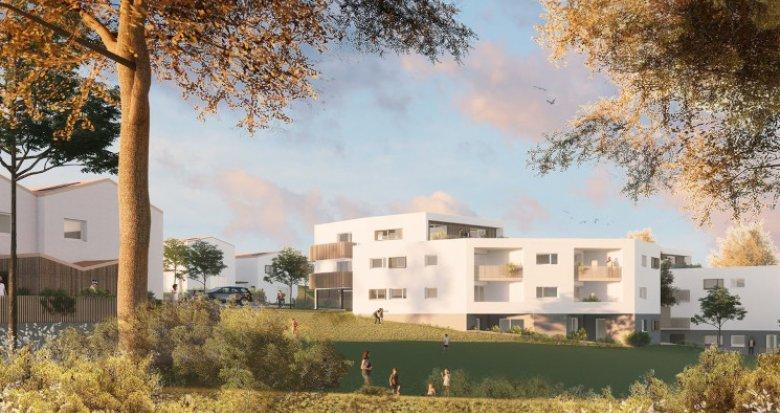 Achat / Vente appartement neuf Mauves-sur-Loire à 2 min de la gare (44470) - Réf. 5423