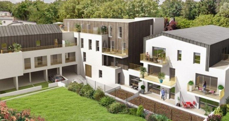 Achat / Vente appartement neuf Mauves-sur-Loire plein bourg proche commerces (44470) - Réf. 2497