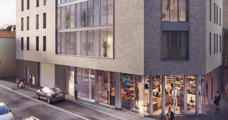 Achat / Vente appartement neuf Nantes à 400 mètres du Canal Saint-Félix (44000) - Réf. 5946