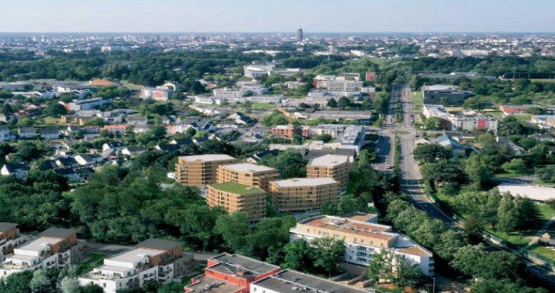 Achat / Vente appartement neuf Nantes à 8 min à pied des universités (44000) - Réf. 4834