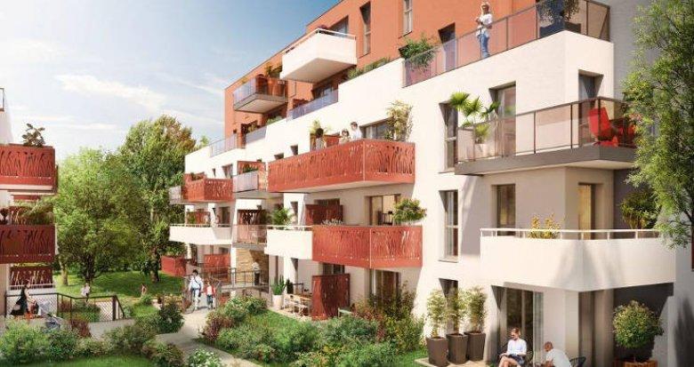 Achat / Vente appartement neuf Nantes à proximité du tramway et des commerces (44000) - Réf. 2357
